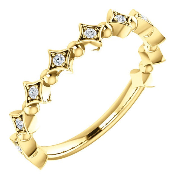 Diamond & Bead Band - Lauren Sigman Collection