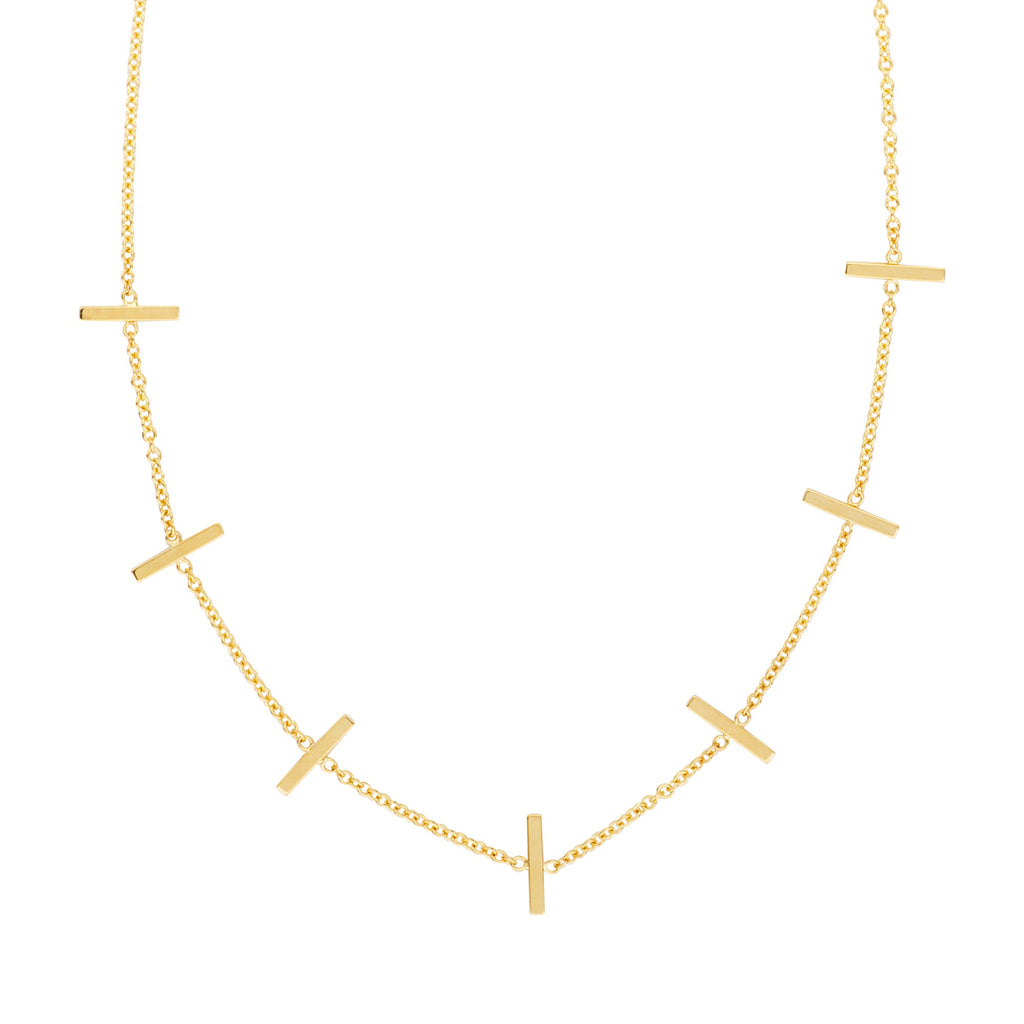 Bar Station Necklace - Lauren Sigman Collection