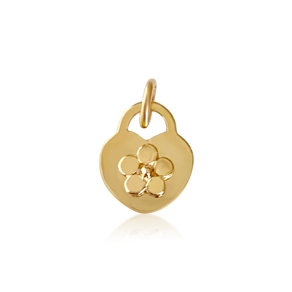 Flower Heart Locket - Lauren Sigman Collection