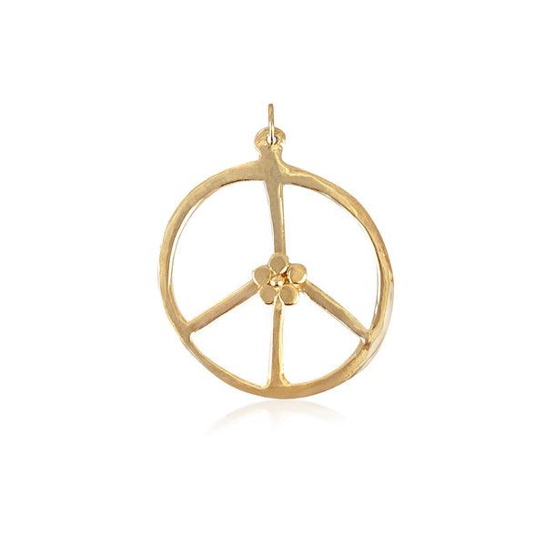 Peace Flower Pendant - Lauren Sigman Collection
