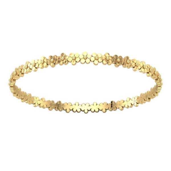 Buttercup Flower Bangle - Lauren Sigman Collection
