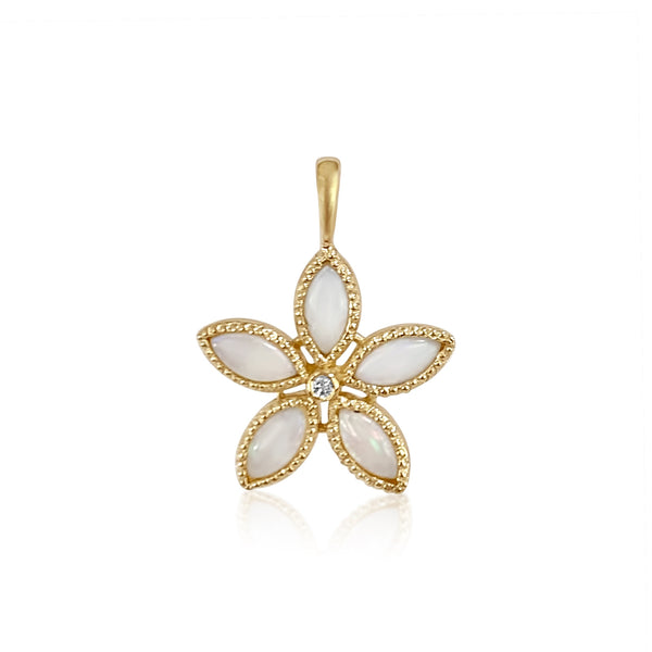 Amaryllis Pendant/Opals - Lauren Sigman Collection