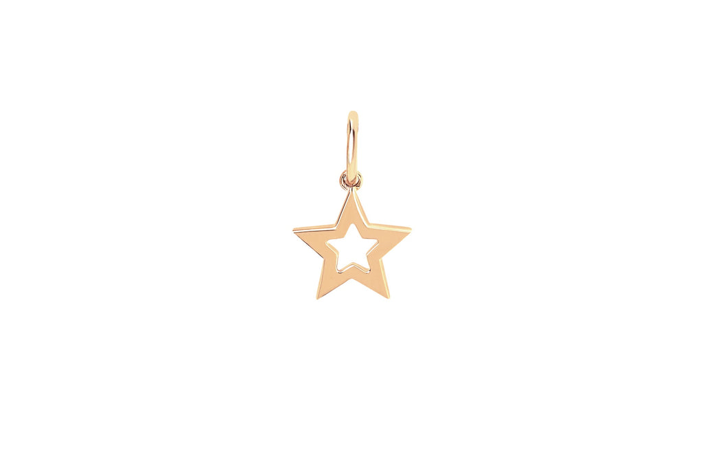 Mini Gold Star Charm - Lauren Sigman Collection