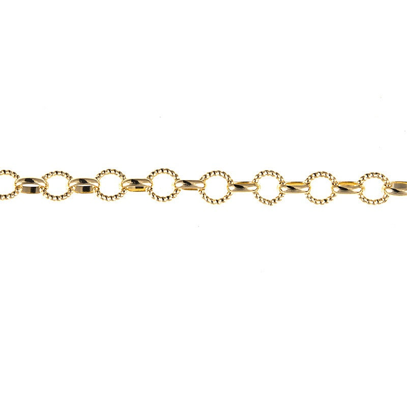Rolo & Round Twisted Link Chain - Lauren Sigman Collection