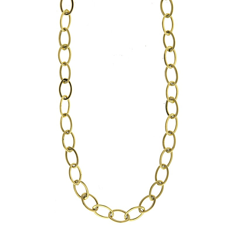 Flat Polished Link Chain - Lauren Sigman Collection