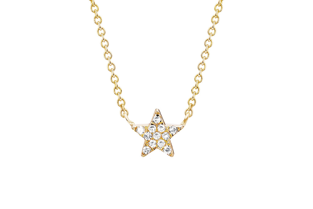 Diamond Star Choker Necklace - Lauren Sigman Collection