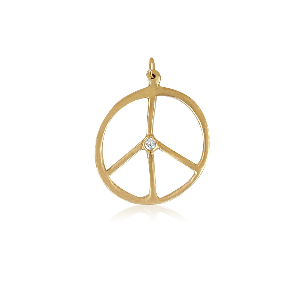 Peace Diamond Pendant - Lauren Sigman Collection