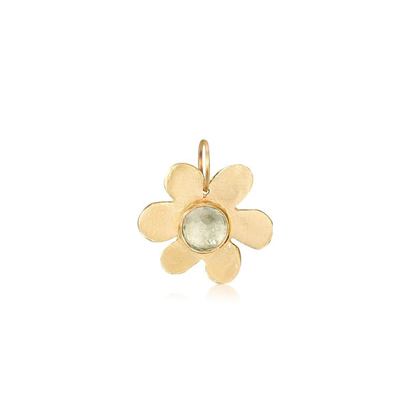 Daisy Blue Topaz Charm - Lauren Sigman Collection