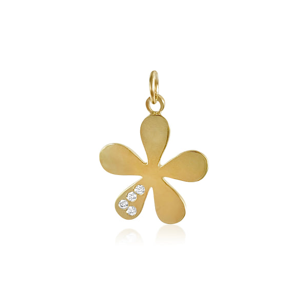 The Willow with Diamond Leaf Pendant - Lauren Sigman Collection