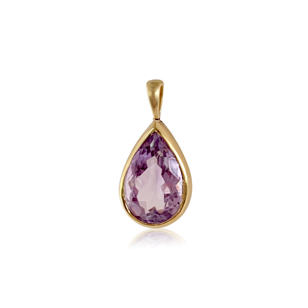 Amethyst Gemstone Pendant - Lauren Sigman Collection