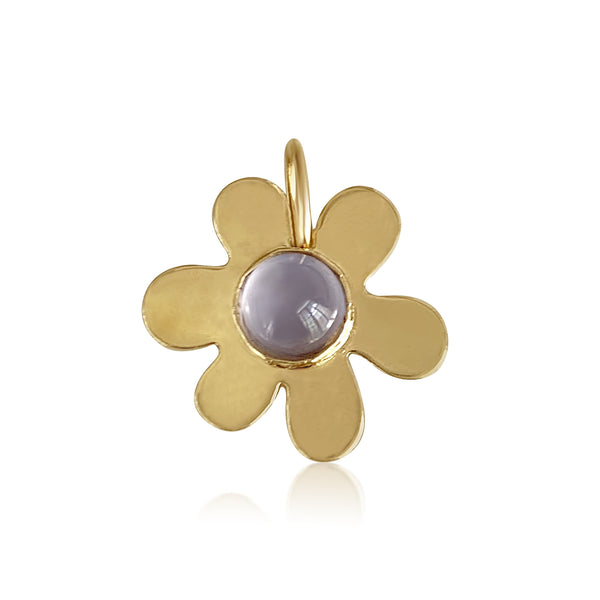 Daisy Chalcedony Charm - Lauren Sigman Collection