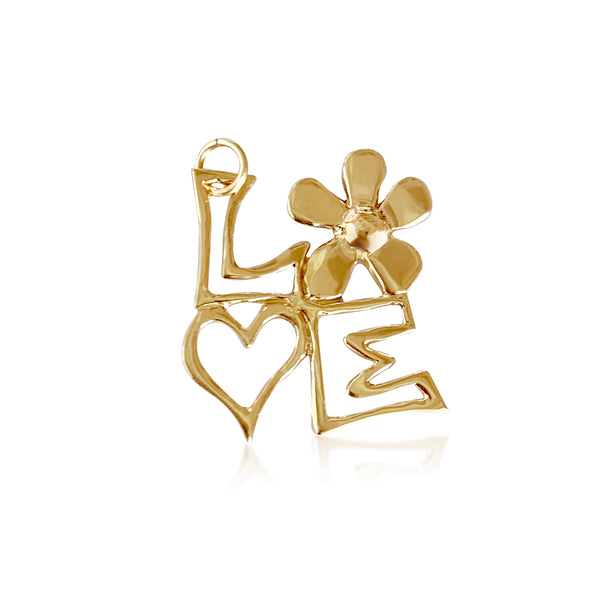 Love Block Charm - Lauren Sigman Collection