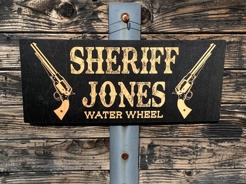 Sheriff Sign - www.boobaloo.com