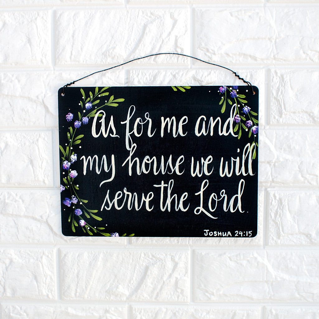 As For Me and My House We Will Serve The Lord - www.boobaloo.com