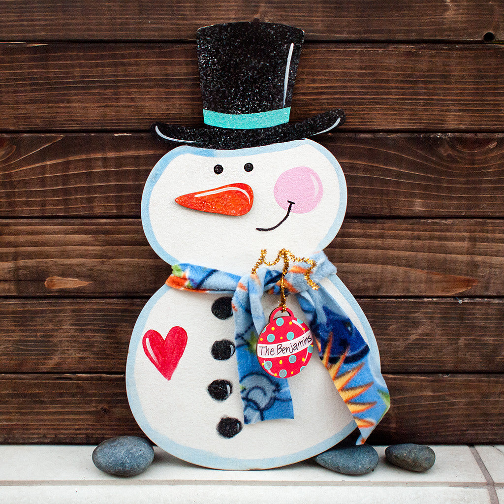 Happy Snowman - www.boobaloo.com