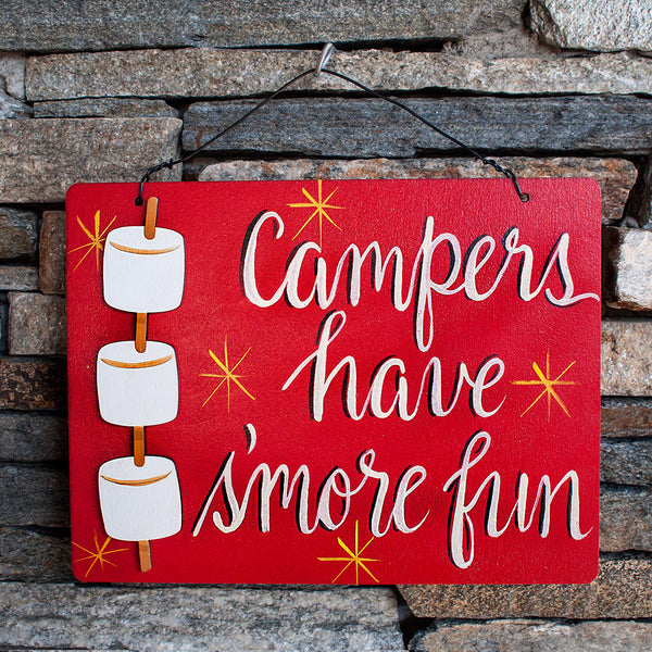 Campers Have S'more Fun - www.boobaloo.com