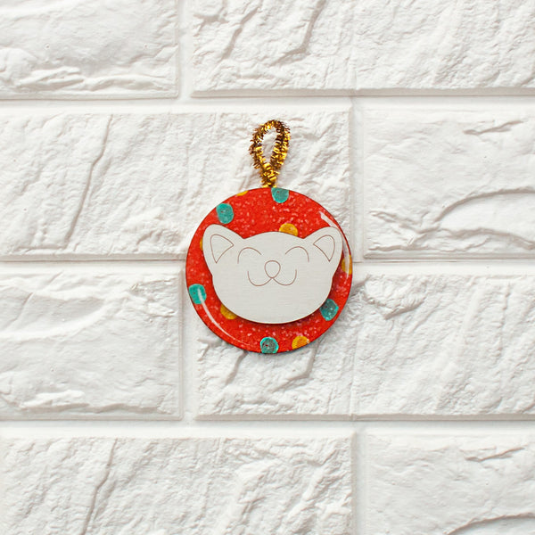 Cat Ball Ornament - www.boobaloo.com