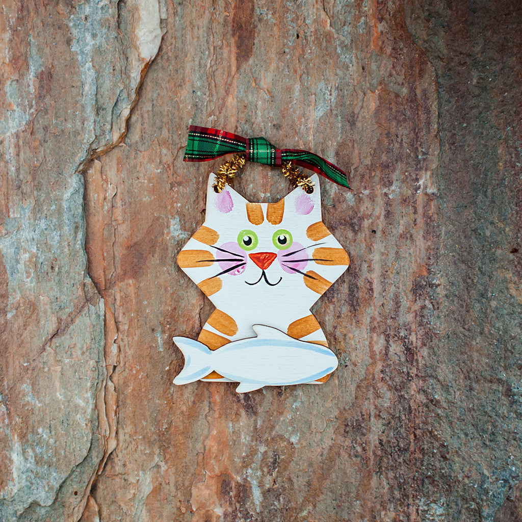 Cat Ornament - www.boobaloo.com