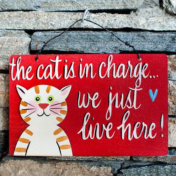 The Cat Is In Charge...We Just Live Here! - www.boobaloo.com