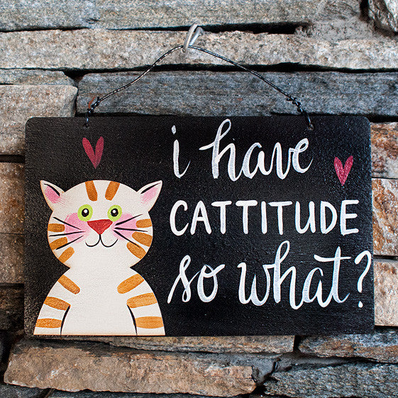 I Have Cattitude So What? - www.boobaloo.com