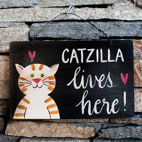 Catzilla Lives Here! - www.boobaloo.com