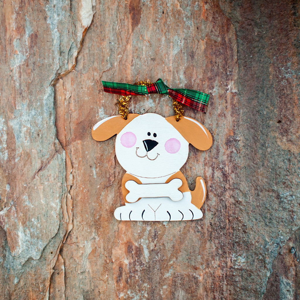 Dog Ornament - www.boobaloo.com