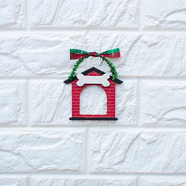 Doghouse Ornament - www.boobaloo.com