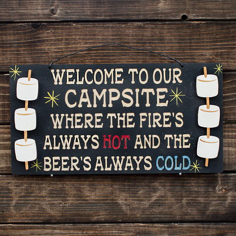 Fire's Always Hot Beer's Always Cold - www.boobaloo.com