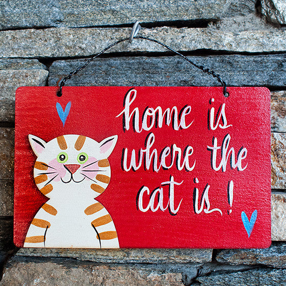 Home Is Where The Cat Is! - www.boobaloo.com