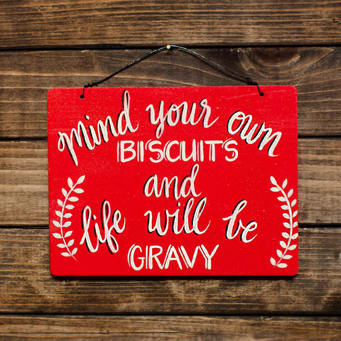 Mind Your Own Biscuits - www.boobaloo.com