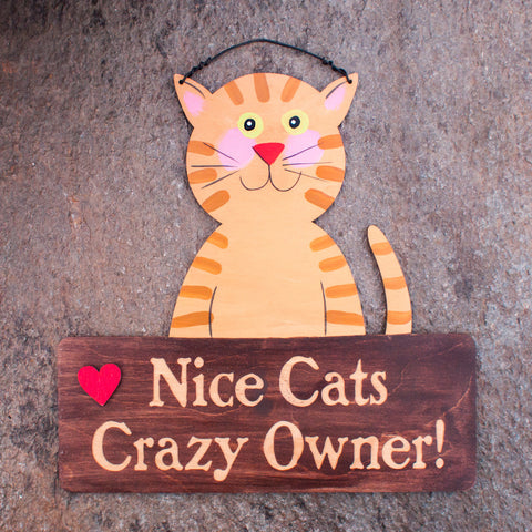 Nice Cats Crazy Owner! - www.boobaloo.com