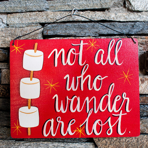 Not All Who Wander Are Lost - www.boobaloo.com