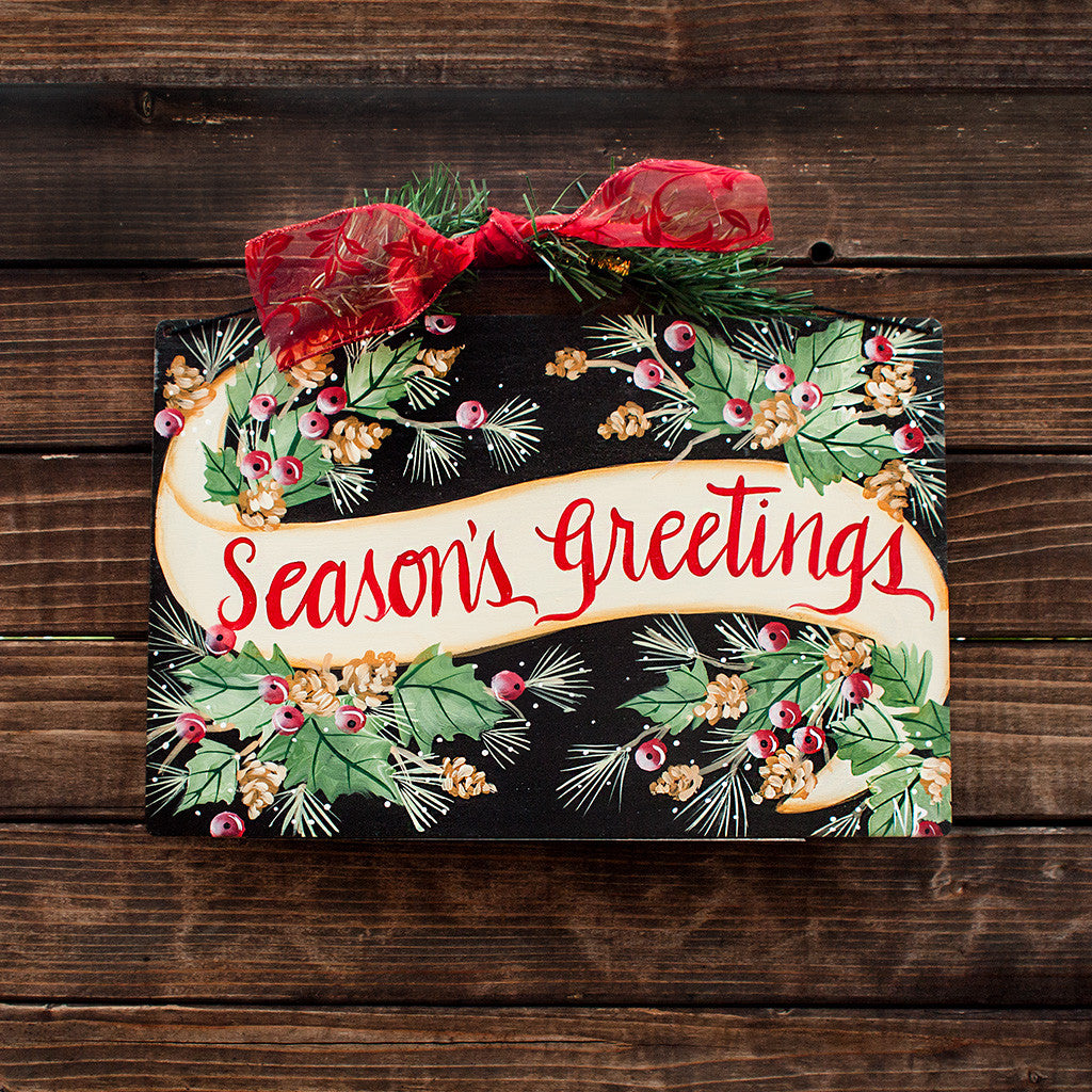 Season's Greetings Banner - www.boobaloo.com