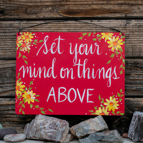 Set Your Mind On Things Above - www.boobaloo.com