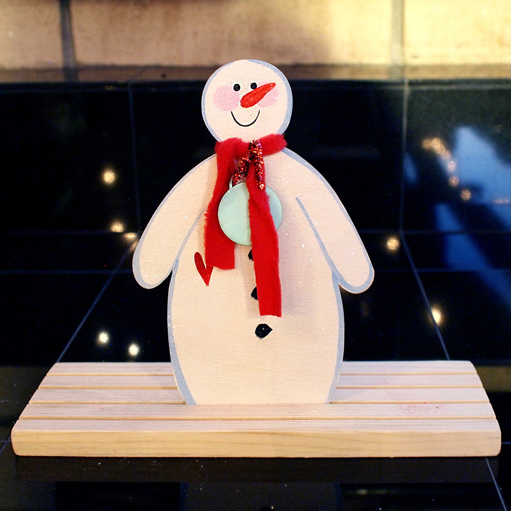 Snowman Mama for Snowmen Family Set - www.boobaloo.com