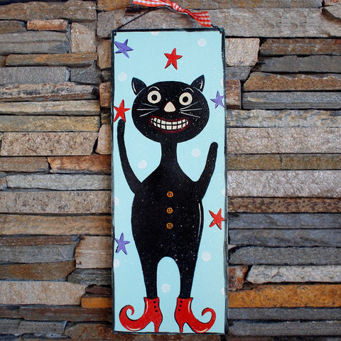 Vintage Black Cat - www.boobaloo.com
