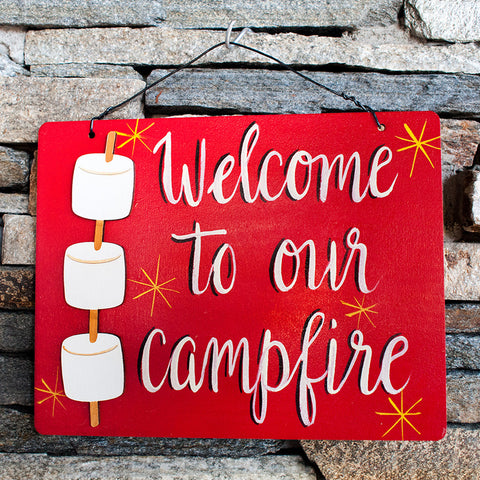 Welcome To Our Campfire - www.boobaloo.com