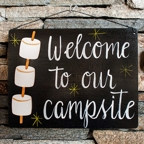 Welcome To Our Campsite - www.boobaloo.com