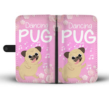 Load image into Gallery viewer, Dancing Pug Wallet Case