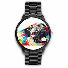 Load image into Gallery viewer, Pug Color Splash Watch