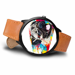 Pug Color Splash Watch