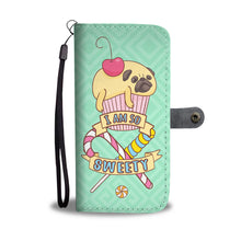 Load image into Gallery viewer, Pug Cake Cell Phone Wallet Case