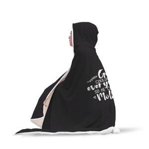 God And Mom Hooded Blanket - FREE Shipping and 25% OFF
