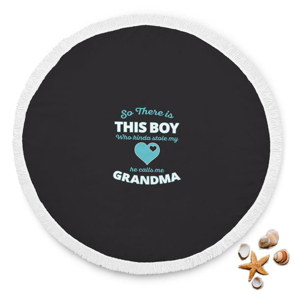 So There Is This Boy - Grandma Beach Blanket
