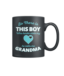 So This Boy Stole Grandma's Heart Mug Color Coffee Mug
