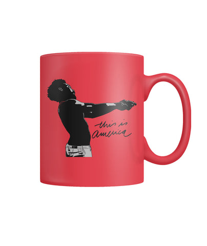 This Is America - Red Mug Color Coffee Mug