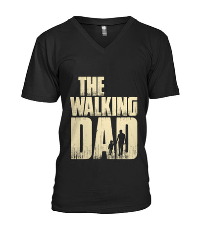 The Walking Dad V-Neck Tee Mens V-Neck