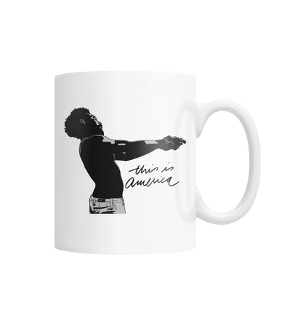 This Is America - White Mug White Coffee Mug - FREE SHIPPING