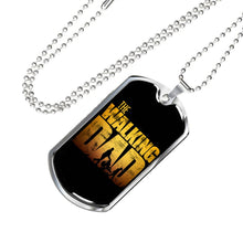Load image into Gallery viewer, The Walking Dad Dog Tag