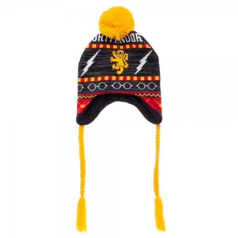 Gryffindor Winter Hat with Ties